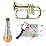 Band Directors Choice Lacquer Flugelhorn W/Essentials Kit