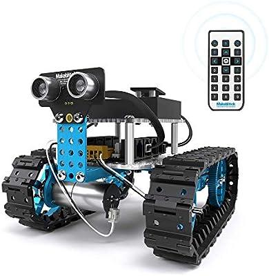 Makeblock Starter Robot Kit, DIY 2 in 1 Advanced Mechanical Building Block,  STEM Education to Learn Robotics, Electronics and Program  (IR Version)