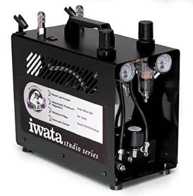Iwata-Medea Studio Series Power Jet Pro Double Piston Air Compressor