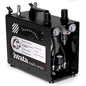 Iwata-Medea-Studio-Series-Power-Jet-Pro-Double-Piston-Air-Compressor