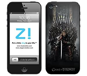 Zing Revolution Game of Thrones Premium Vinyl Adhesive Skin for iPhone 5, Throne Image, MS-GOT200318