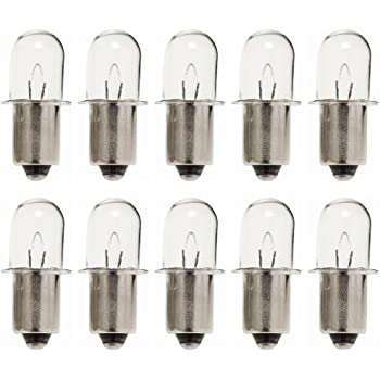 Ryobi Ridgid 18v Flashlight 10 Pack Replacement 18v
