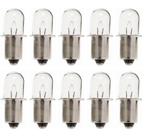 Ryobi Ridgid 18V Flashlight (10 Pack) Replacement 18V Flashlight Bulb # 780287001-10pk - 18v Flashlight Bulb