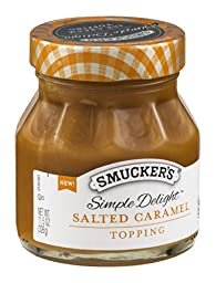 Smucker\'s Simple Delight Topping Salted Caramel 11.5 OZ (Pack of 6)