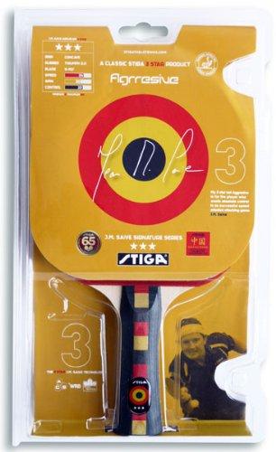 STIGA Saive Aggressive Table Tennis Paddle with Rubber B00550S4RQ
