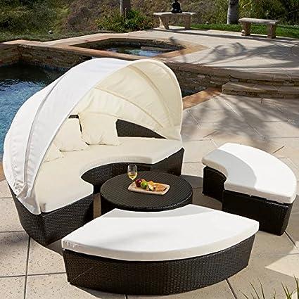 Best Selling La Mesa 4 Piece Cabana/Canopy Set