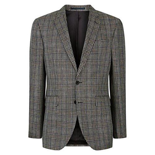 [イエーガー] メンズ ジャケット&ブルゾン Regular Open Weave Check Jacket [並行輸入品] B07F34XH3X 44 Regular