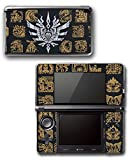 Monster Hunter 4 Ultimate Generations 3 World Video Game Vinyl Decal Skin Sticker Cover for Original Nintendo 3DS System