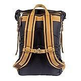 Poler Unisex Rolltop Backpack, Black, One Size