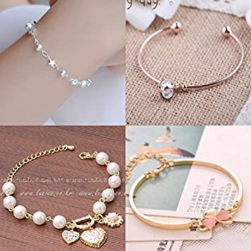 Amazon Simple Birthday Gift Teen Girl Bracelet Couple Girlfriends Beautiful Fashion Models Korean Version Of A Creative Leisure Beauty
