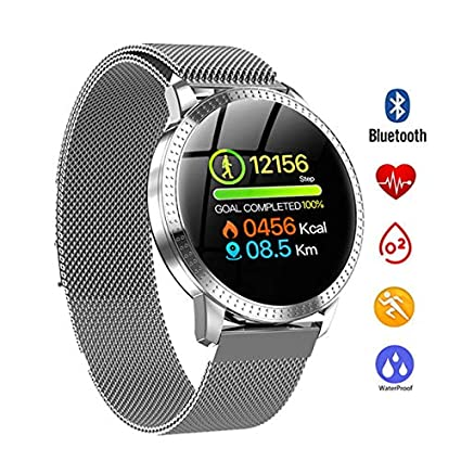 Amazon.com: QUARKJK Men Women Smart Watch reloj inteligente ...