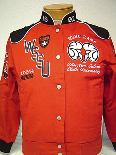 Image Unavailable. Image not available for. Color  Womens Large Winston  Salem State University Rams ... c0ca81f85