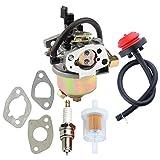 951-10974A Carburetor + Primer Bulb for MTD Troy Bilt Cub Cadet Craftsman Snow Blower 951-10974A 951-12705 751-12705 Carb Snowthrower