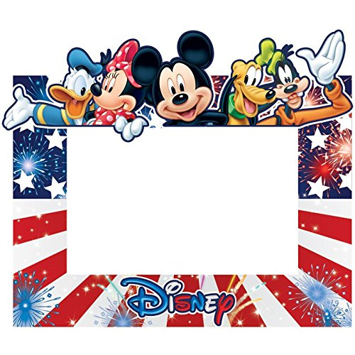 SaveMax Disney Freedom Group Mickey Minnie Donald Pluto Goofy Picture Frame by SaveMax