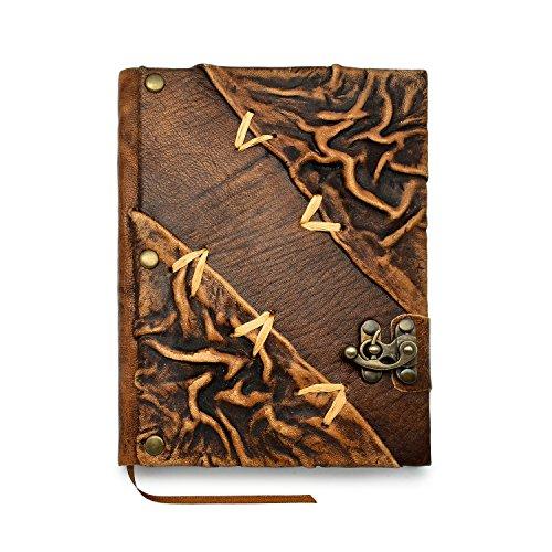 Travel Diary Sketchbook – Handmade Leather Journal – Luxury Gift for Men & Women