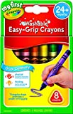 My First Crayola Washable Triangular Crayons, 8pk, Learning Grip, 2 years, 3 years, 4 years, pre-school, kindergarten, art & craft
