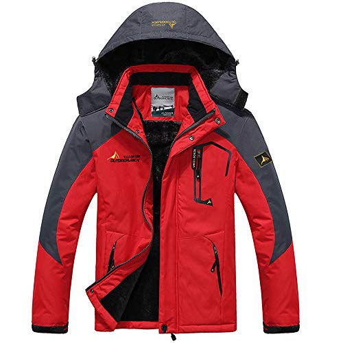 Men's Autumn Winter Assault Clothing Thickened Fluffy Hooded Coat for $<!--$44.96-->
