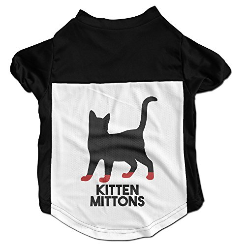 KITTEN MITTONS Popular Puppy Dog Clothes Sweaters Shirt Hoodie Coats (Beer Bobblehead)