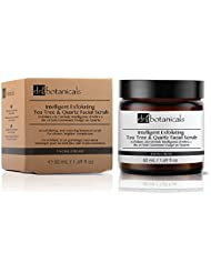Dr Botanicals Intelligent Exfoliating Tea Tree and Quartz Facial Scrub