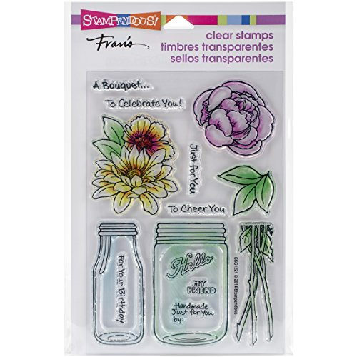 Stampendous, Clear Stamp Set, Bouquet For You