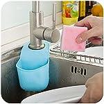 Creativo-pieghevole-in-silicone-Hanging-Serbatoi-di-Cucina-Bagno-supporti-di-immagazzinaggio-amp-Rack-Color-Pink