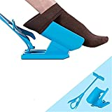 Sock Slider - The Easy on, Easy off Sock Aid Kit For Putting the Socks ON and Taking Them OFF Without Bending Stretching or Straining System (2pcs)