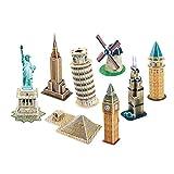 3D Puzzle World Famous Mini Architecure Series 4 (60 pieces)