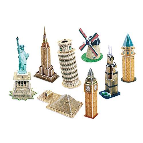 Cubic Fun Mini Architecture Series 4, 60 Pieces