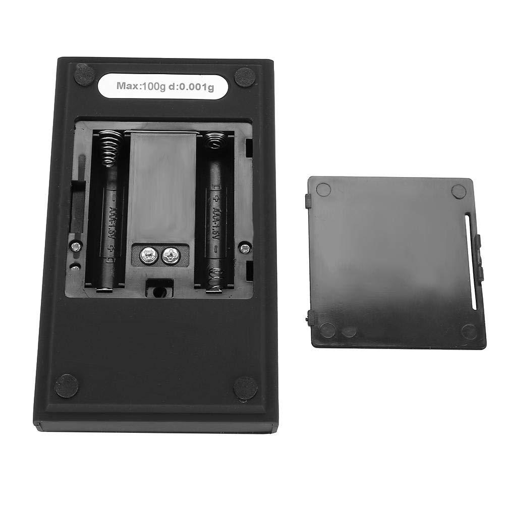 Calibraci/ón del peso de la pantalla digital de alta precisi/ón 0.001g. 10g B/áscula de bolsillo