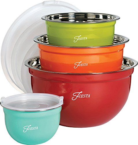 Fiesta Nested 8-pc. Bowl Set - 8 Nesting Piece Bowl