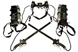 Mtxc Attack On Titan Cosplay Eren Yeager Three-Dimensional Maneuvering Gear Full Set Silver