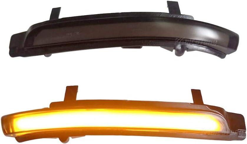 Indicatori di direzione dinamici a LED nello specchietto retrovisore per Octavia 1Z3 1Z5 Superb 3T4 3T5