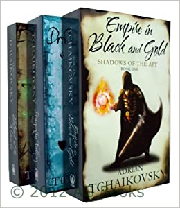 Shadows Of The Apt:Empire In Black And Gold:Book 1