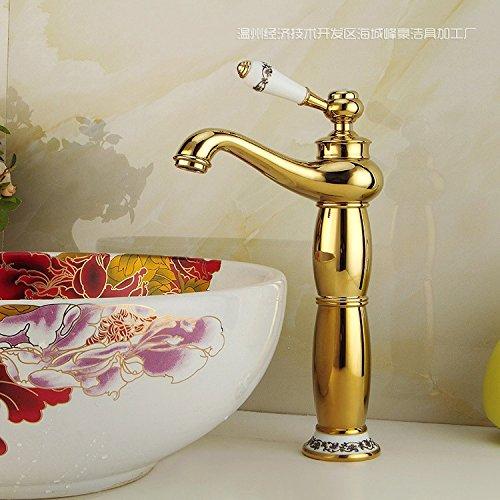 JIAHENGY Waschbeckenmischer Wasserhahn Mischbatterie Armatur Moderne Mode Simple Mode Messing Antik Rotary WC Küche Badezimmer