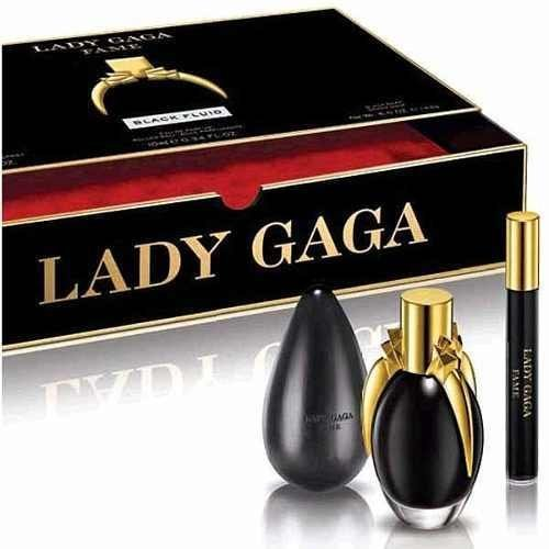 9788075649 Lady Gaga Fame Black Fluid Perfume Eau De Parfum 1.7 OZ spray gift set 51s5owBlUGL
