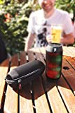 DURAGADGET Premium Quality Hard EVA Case in Black for The SOUND2GO WATERBOOM - with Carabiner Clip & Durable Carry Handle