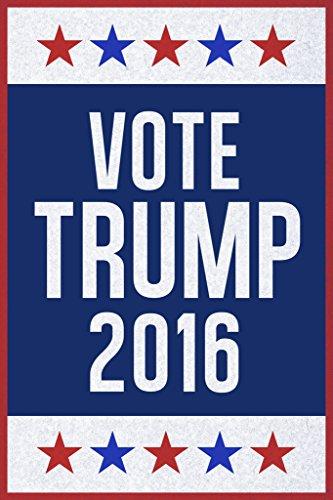 Vote Trump 2016 Campaign Poster 12x18 (Party City 2016 Costumes)
