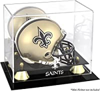 Mounted Memories New Orleans Saints Mini Helmet Display Case