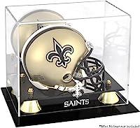 Mounted Memories New Orleans Saints Mini Helmet Display Case