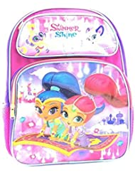 Nickelodeon Shimmer And Shine 16 Large Backpack-A07738