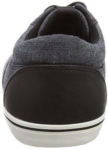 JACK & JONES Jjvision Full Chambray Low Sneaker - Zapatillas Hombre Azul - Blau (Chambray Blue)