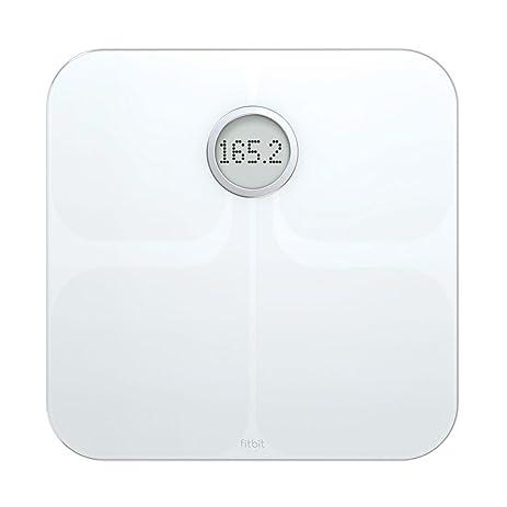 51s5qOpziPL._SY463_ amazon com fitbit aria wi fi smart scale, white health  at bayanpartner.co