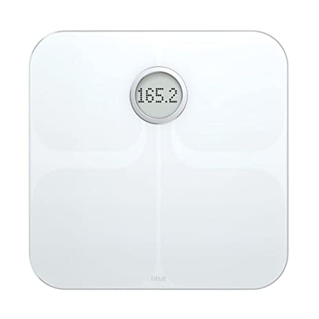 51s5qOpziPL._SY463_ amazon com fitbit aria wi fi smart scale, white health  at edmiracle.co