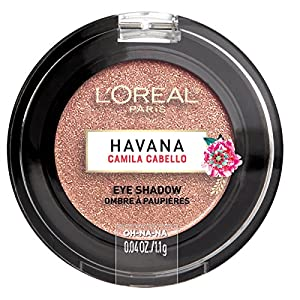 L'Oreal Paris Cosmetics X Camila Cabello Havana Eye Shadow, Oh-Na-Na, 0.04 Ounce