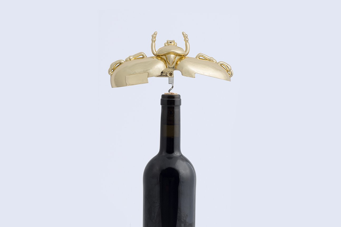 Doiy Insect Wine Bottle Corkscrew (Gold) by DOIY (Image #3)