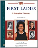 img - for First Ladies: A Biographical Dictionary (Facts on File Library of American History) book / textbook / text book