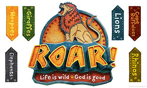 Giant Decorating Poster Pack - Set of 5 - Roar VBS by Group -