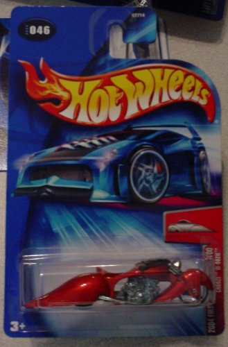 hot-wheels-2004-first-edition-crooze-w-oozie-motorcycle-46-046-46-100-164-scale
