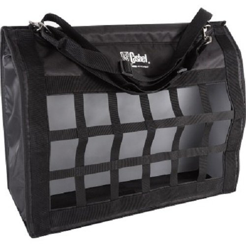 - Cashel Hay Bag Slow Feed Top Load Black