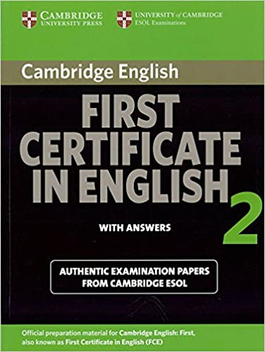 Amazon cambridge first certificate in english 2 for updated exam amazon cambridge first certificate in english 2 for updated exam students book with answers official examination papers from university of cambridge yelopaper Gallery